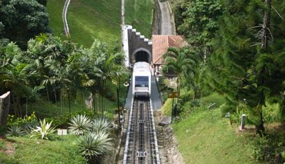 the romantic peak of Penang Hill