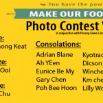 "Winners of ""You Have the Power to Make Our Food Last"" Photo Contest"