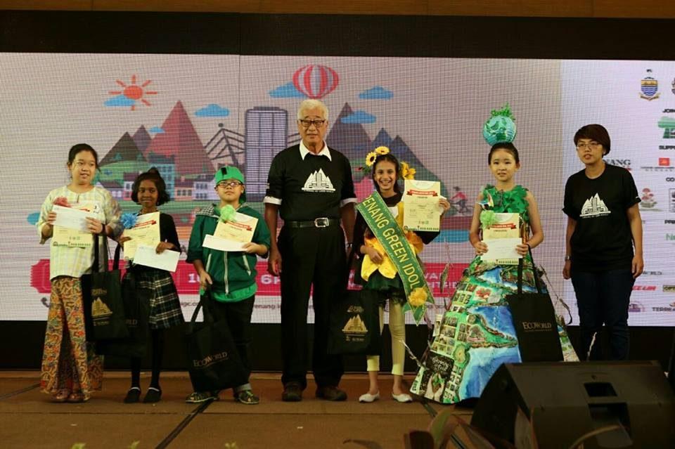 Green Idol group photo
